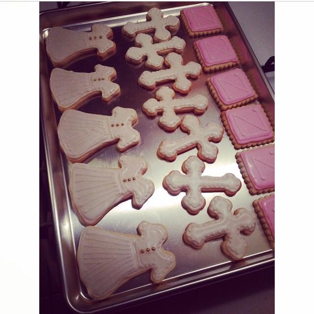 Baptism Sugar Cookies
